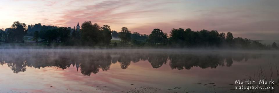 Päikesetõus Eesti sügavaima järve ääres