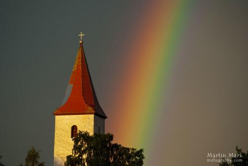 Vikerkaar kiriku tornis