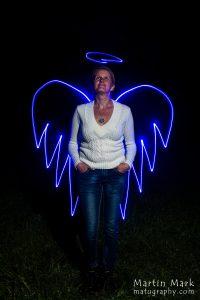 Valgusmaalingud - ingel