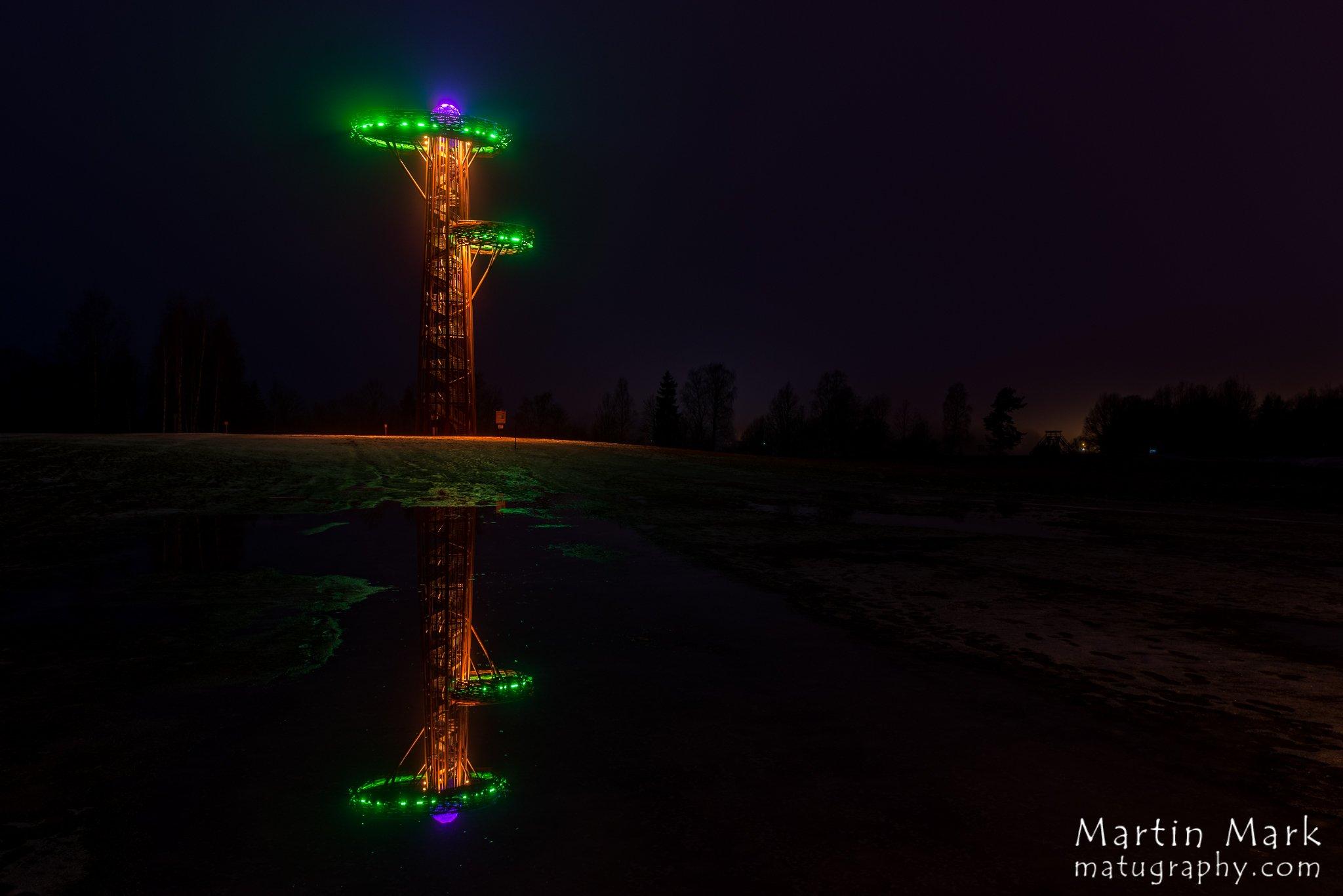 Roosa munaga Rõuge Pesapuu vaatetorn