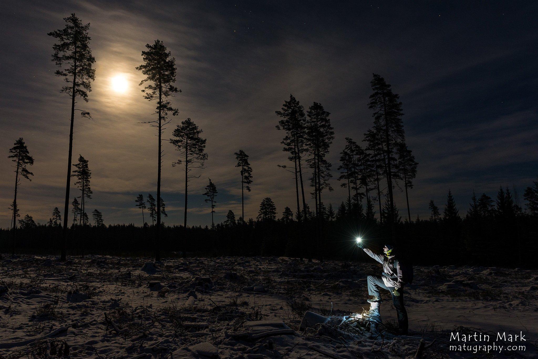 Kuud püüdmas - Matugraphy ööfotograafia