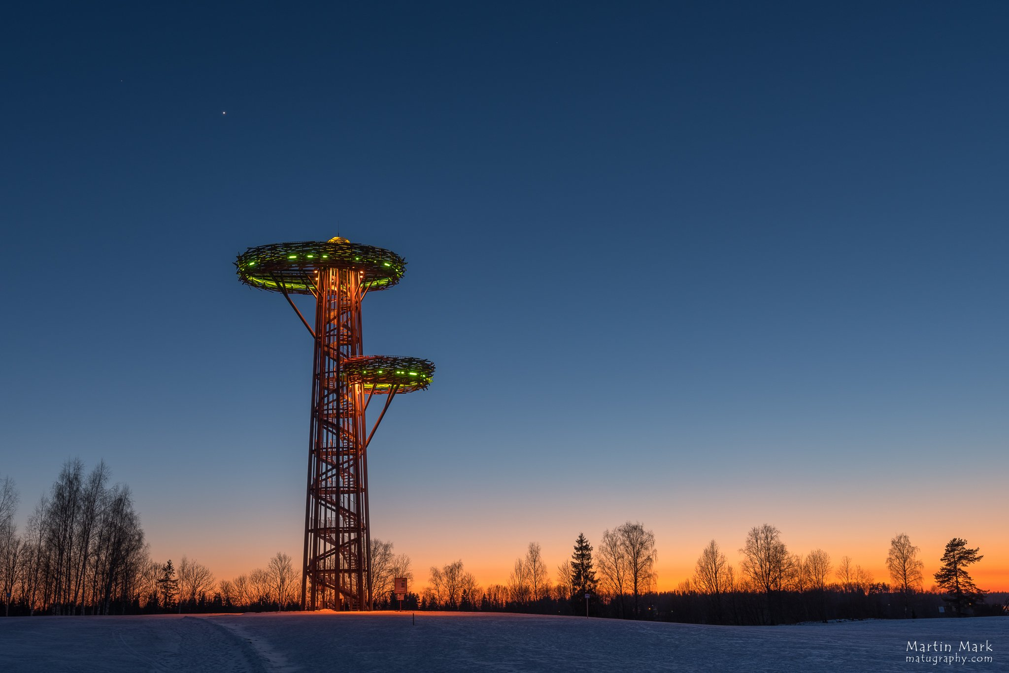 Rõuge Pesapuu vaatetorn. PIldistatud Pentax K1-ga
