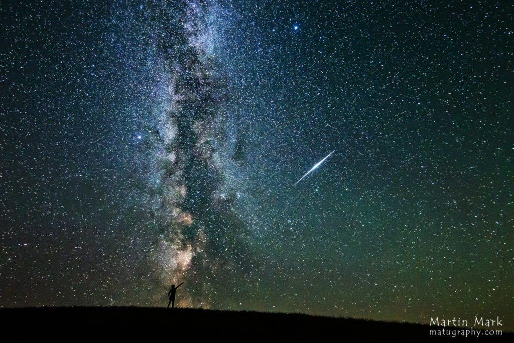 NASA astronoomia päevafoto: Sähvatus ja galaktika