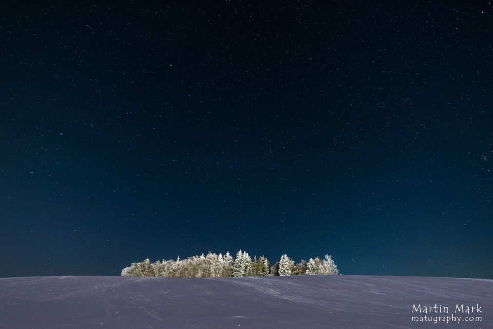 Kuuvalge öö Haanja kõrgustikul