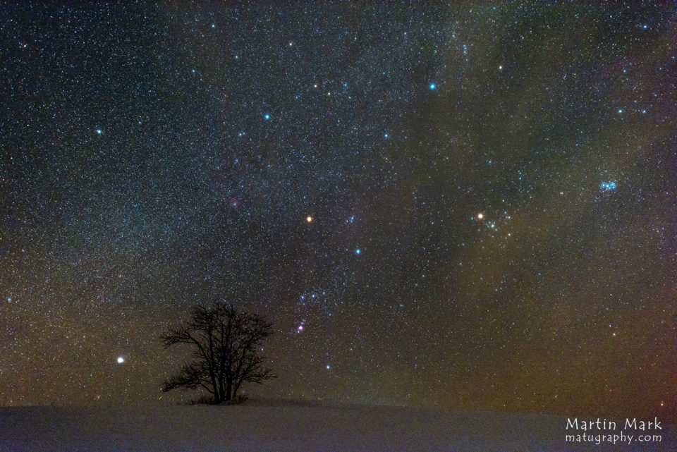 Pihlakas ja Orion Haanjamaal