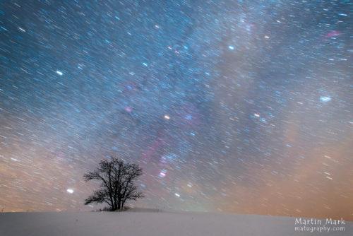 Värviline talveöö
