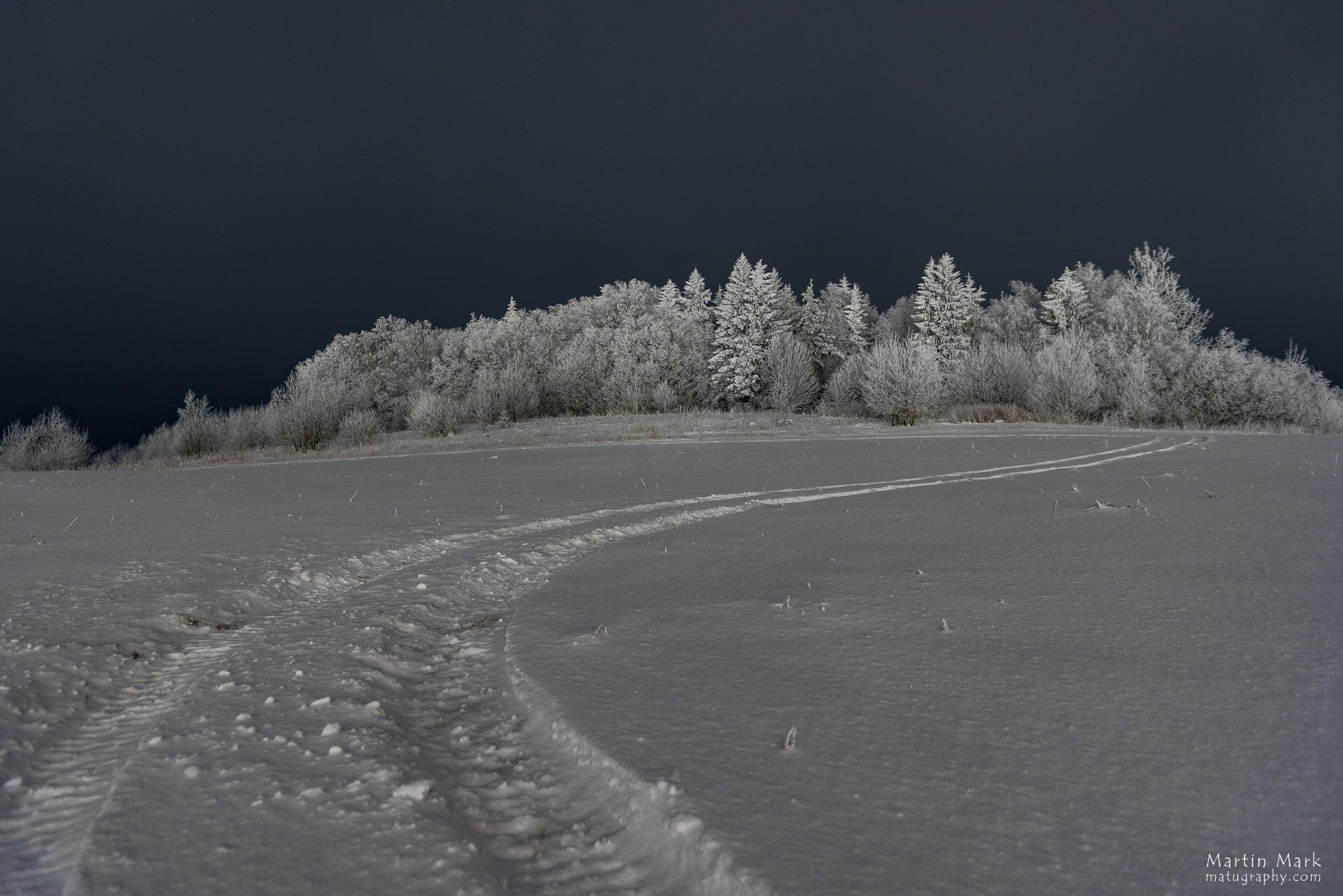 Jäljed lumel - talvine lõbusõit
