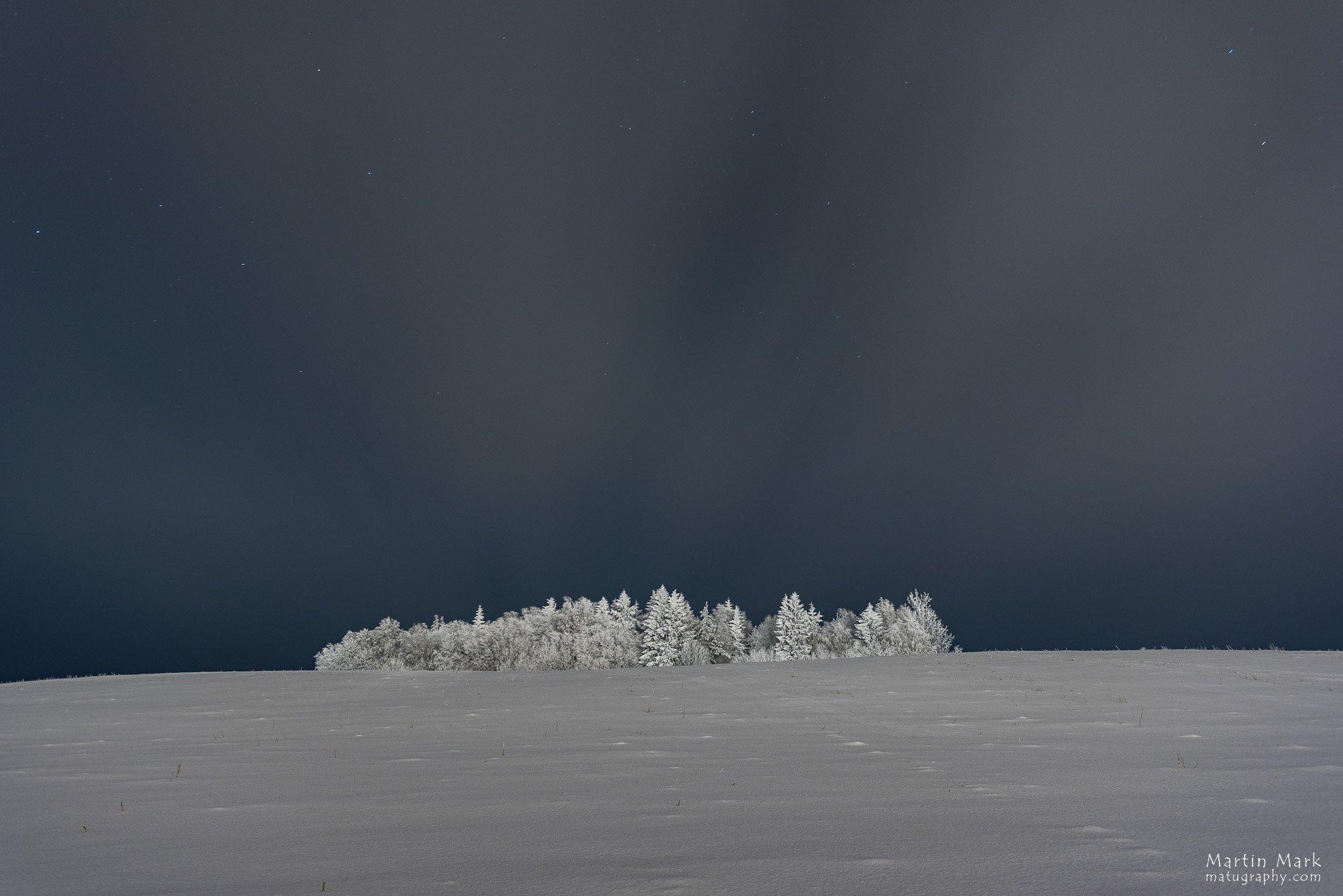 Talv Haanja kõrgustikul