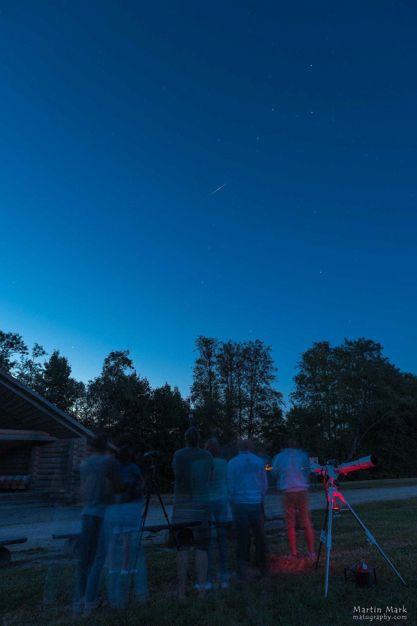Iridiumi sähvatus astronoomiaõhtul
