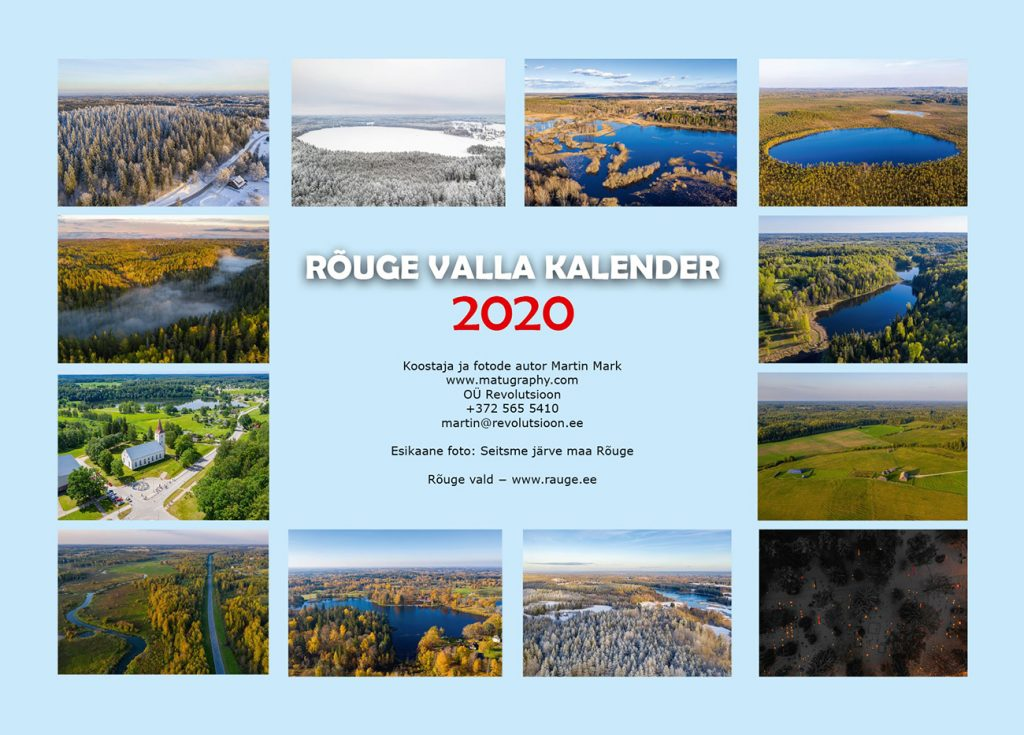 Rõuge valla kalender 2020